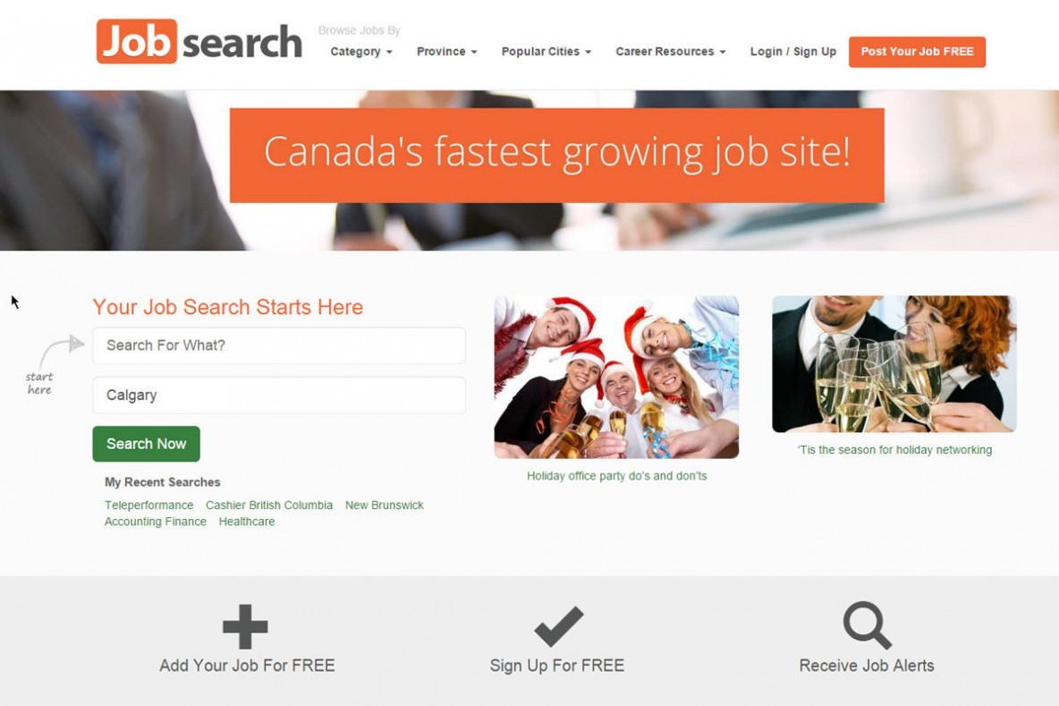 job search sticky pages s job search engine web management solutions
