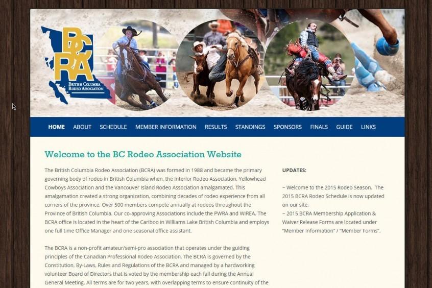 BCRA Website development