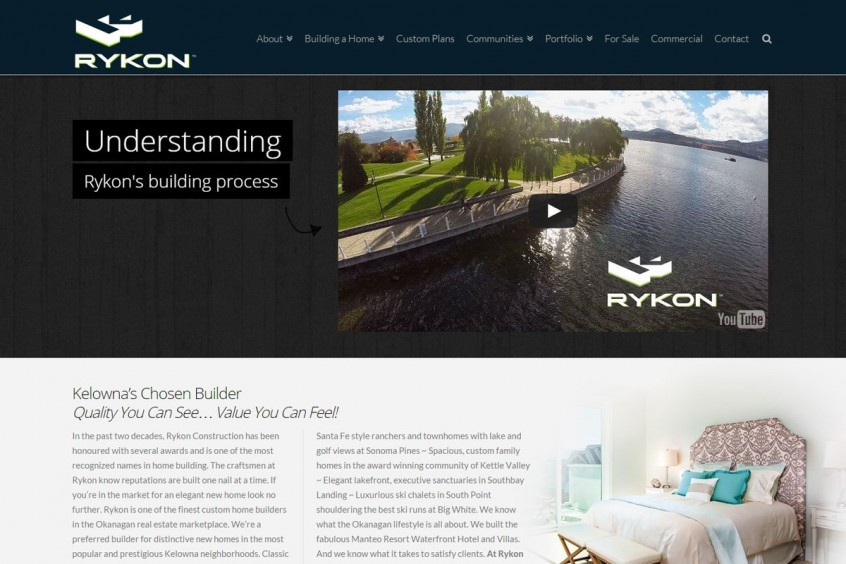 Rykon Construction - Web Management Solutions